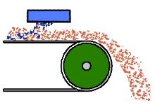 Схема установки подвесного железоотделителя