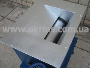 Барабанный магнитный сепаратор вид сверху