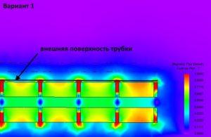 Картина магнитного поля магнитного стержня 2 мм