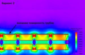 Картина магнитного поля магнитного стержня 5 мм
