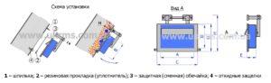 Конструкция магнитной плиты ОПМ