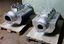 Металлоулавливатель магнитный под давлением перед установкой
